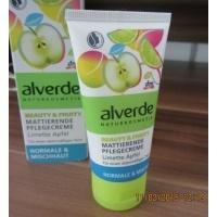 Alverde Mattierende Pflegecreme Limette Apfel Gesichtscreme