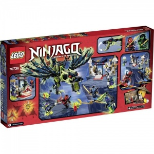 LEGO NINJAGO 70736 - Angriff des Morro-Drachens Bau- & Konstruktionsspielzeug Foto