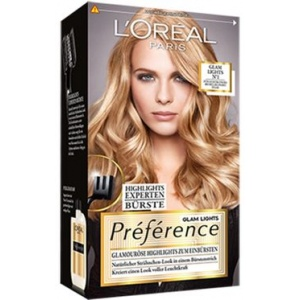 L Oreal Paris Preference Glam Lights Haarfarbe Strahnchen