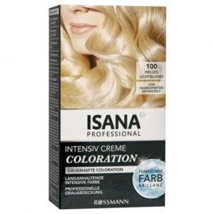 ISANA Professional  Intensiv Creme Coloration Haarfarbe Foto