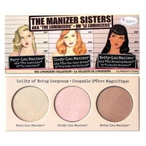 The Balm The Manizer Sisters Trio Highlighter Foto