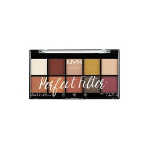 NYX Perfect Filter Shadow Palette Lidschatten Foto