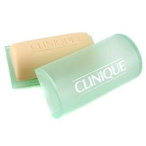 CLINIQUE Facial Soap Mild mit Schale Gesichtsseife Foto