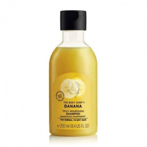 The Body Shop Banana Truly Nourishing Shampoo Foto