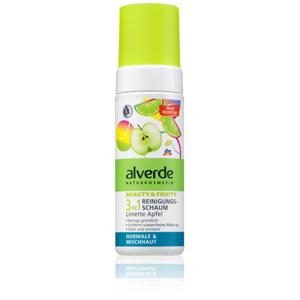 Alverde 3in1 Reinigungsschaum Beauty&Fruity Bio-Limette Bio-Apfel Gesichtsreiniger Foto