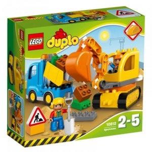 LEGO DUPLO Bagger und Lastwagen Bau- & Konstruktionsspielzeug Foto