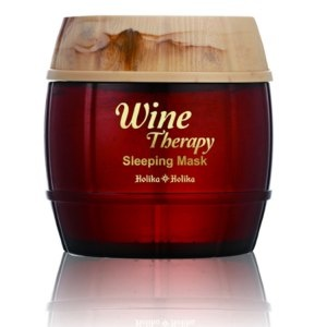 Holika Holika Wine Therapy Sleeping Mask Gesichtsmaske Foto