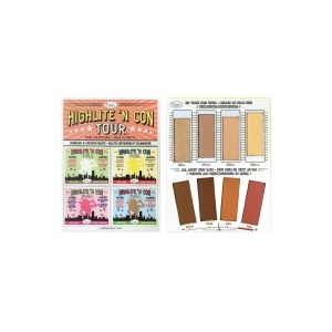 The Balm Highlite 'N Con Tour Highlight & Contour Palette Foto
