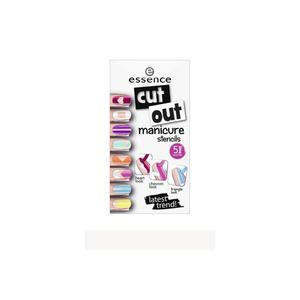 Essence cut out manicure stencils  Nageldesign Foto