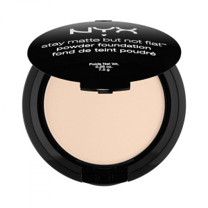 NYX Stay Matte But Not Flat Powder Foundation Puder Foto