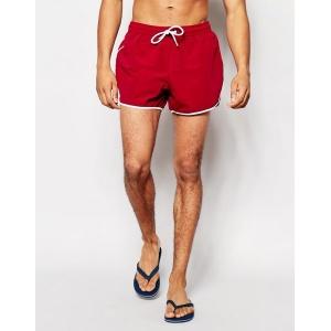 Asos Runner Swim Shorts In Short Length Badeshorts Foto