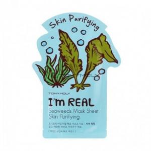 Tonymoly I`m REAL Seaweeds Mask Sheet Skin Purifying Tuchmaske  Gesichtsmaske Foto