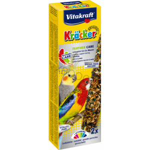 Vitakraft Kräcker Original Feather Care für Großsittiche Foto