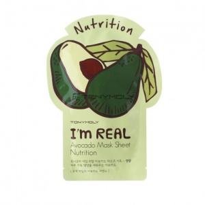 Tony Moly I´m Real Avocado Sheet-Mask Gesichtsmaske Foto
