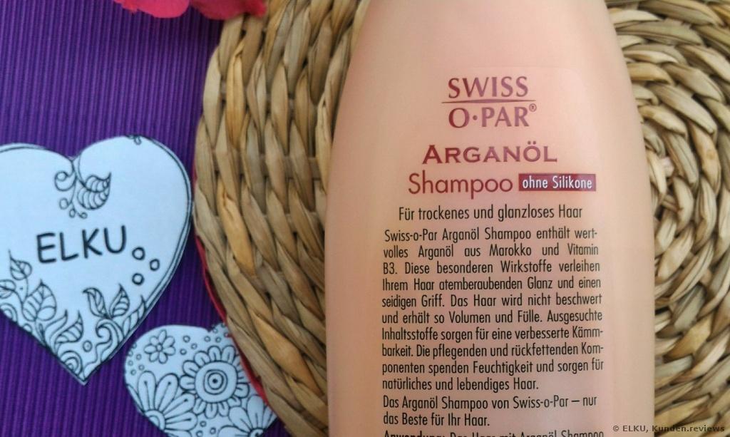 Swiss-O-Par Arganöl Shampoo