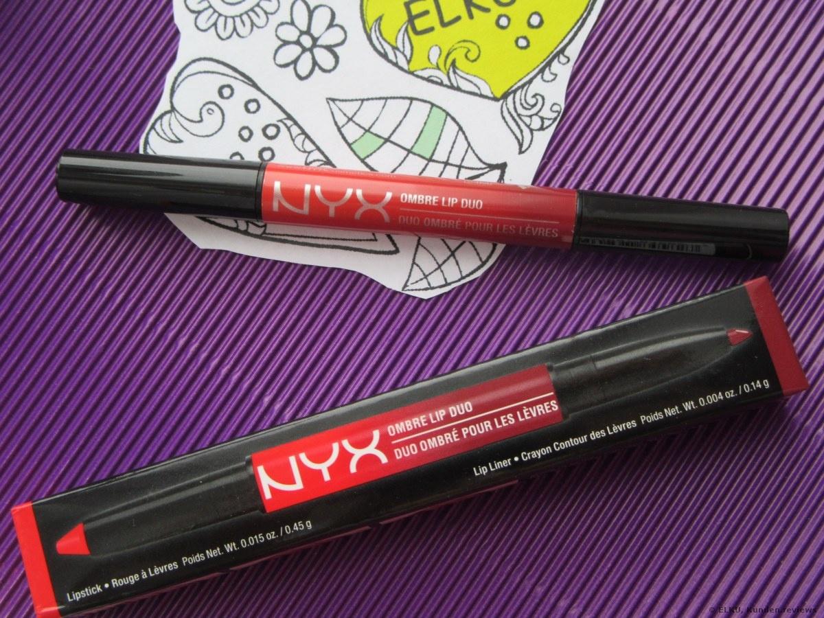 NYX Ombre Lip Duo Lippenstift Foto