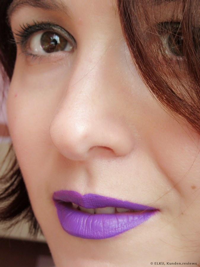 Nyx Liquid Suede Lippenstift Review