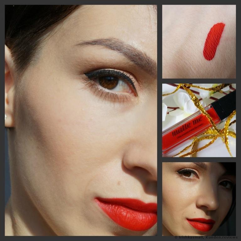 Sleek Lippenstift Matte Me Rioja Red