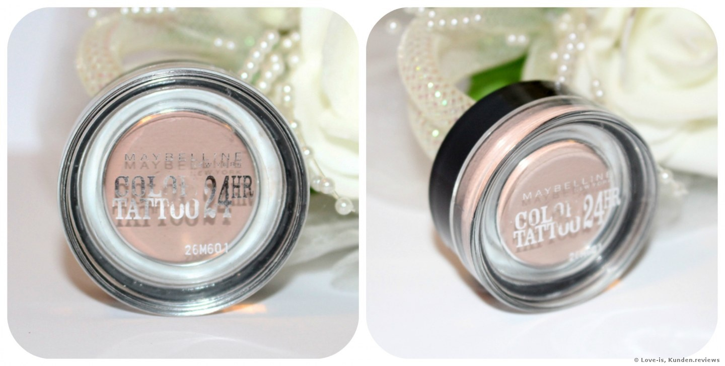MAYBELLINE Color tattoo - 91 Creme de Rose