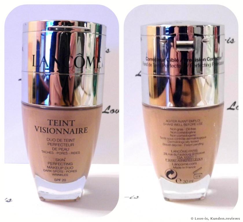 Teint Visionnaire Foundation von Lancôme