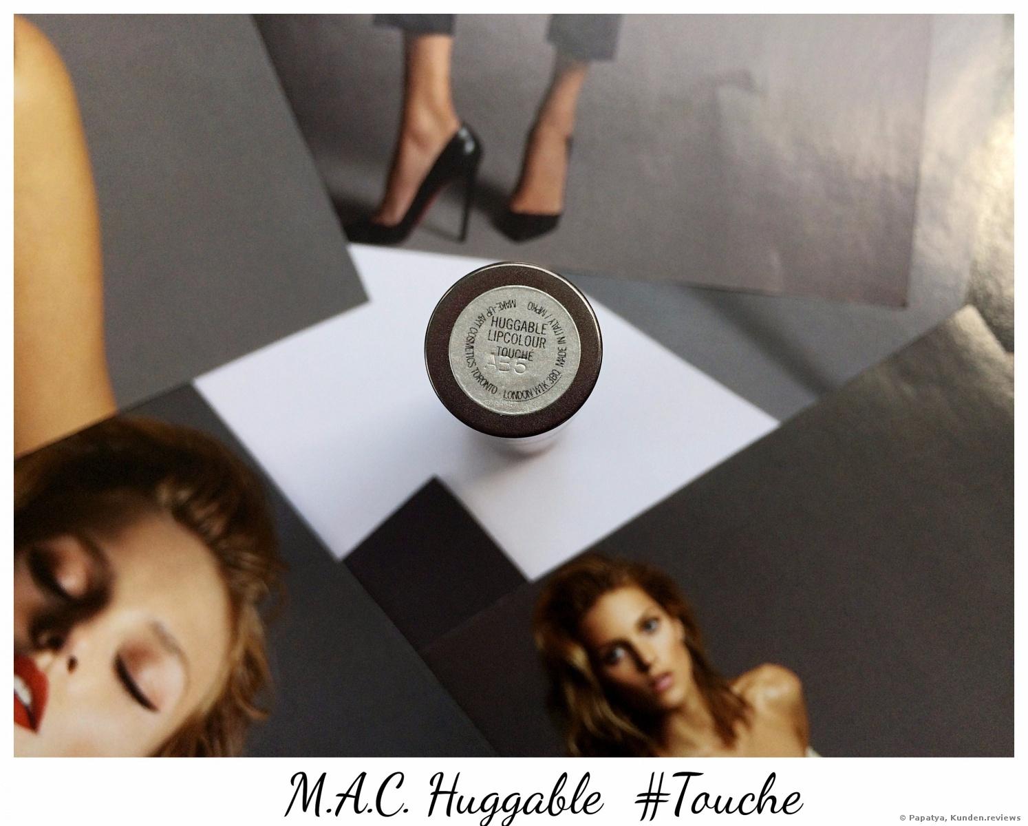 MAC Huggable Lipcolour Lippenstift Foto