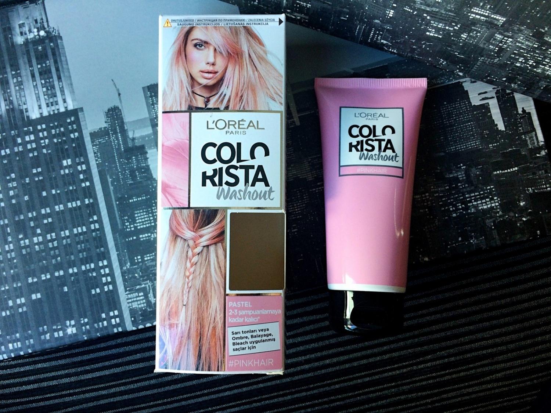 L'Oréal Colovista Wash out Pinkhair