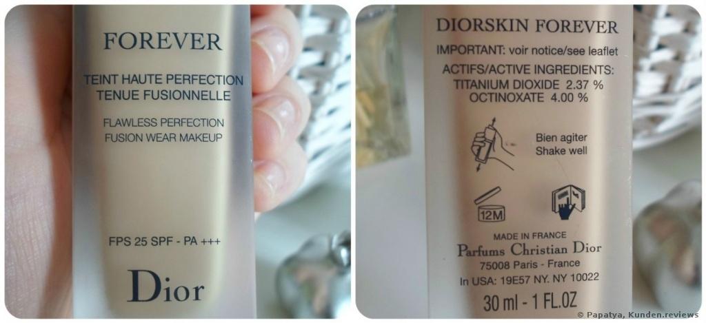 Dior Diorskin Forever Foundation Foto