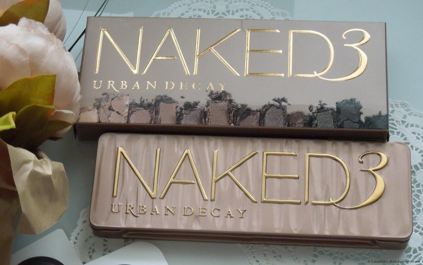 Urban Decay Naked 3 Lidschatten Foto