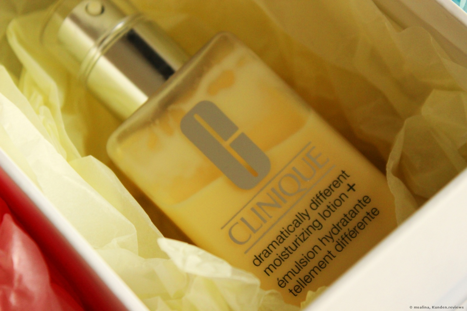 CLINIQUE Dramatically Different Moisturizing Lotion + Gesichtslotion Foto