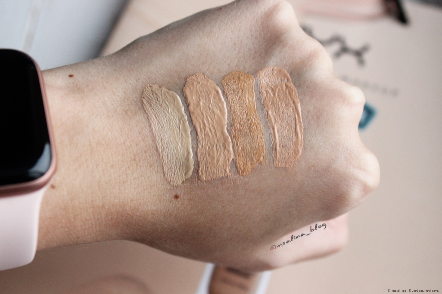 Can't Stop Won't Stop Full Coverage Foundation von NYX