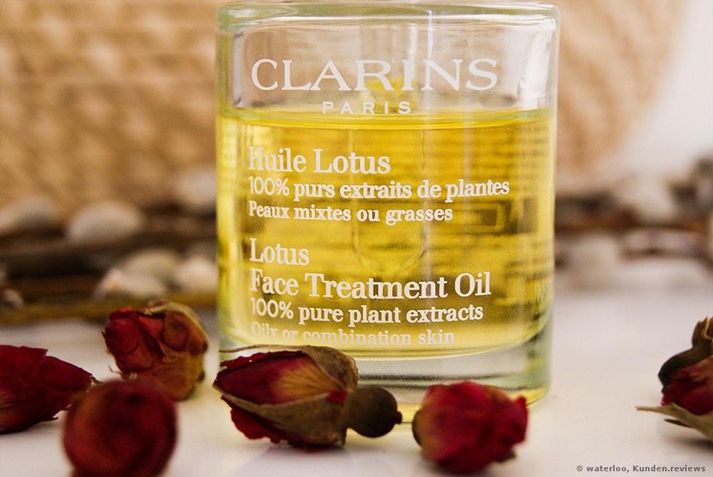 Clarins Huile Lotus Gesichtsöl Foto