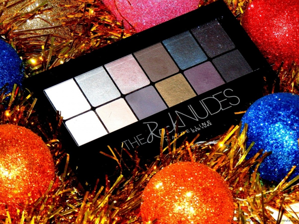 Maybelline The Rock Nudes Lidschatten Palette Foto