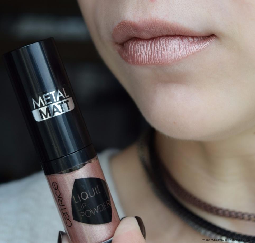 Liquid Lip Powder - Metal Matt