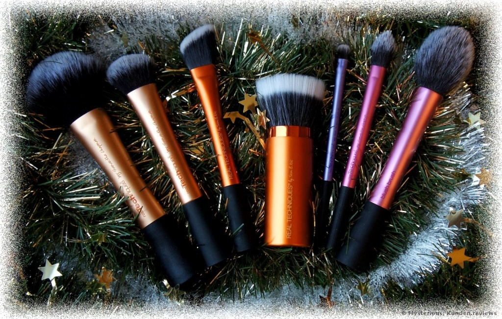 Real Techniques Gesichtspinsel Retractable Bronzer Brush