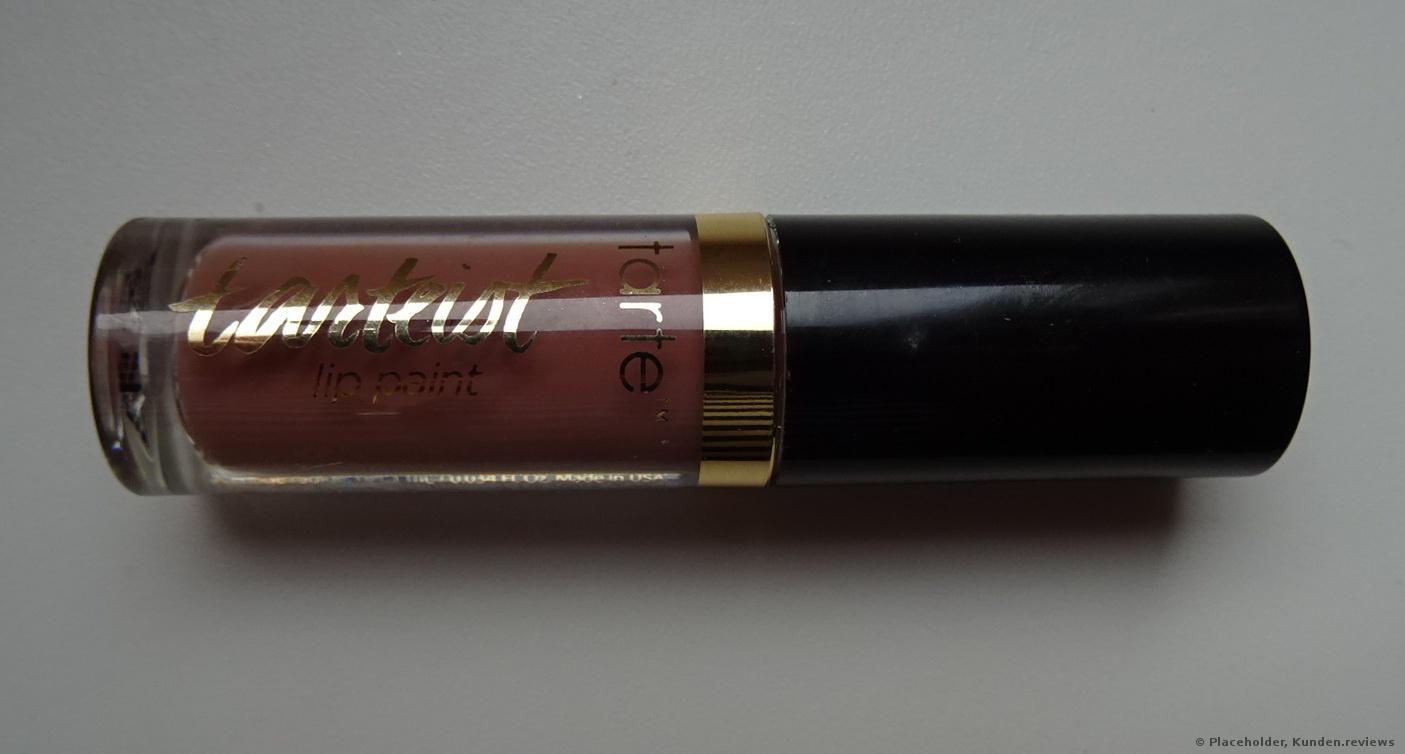 Tarte Tarteist Quick Dry Matte Lippenstift Foto