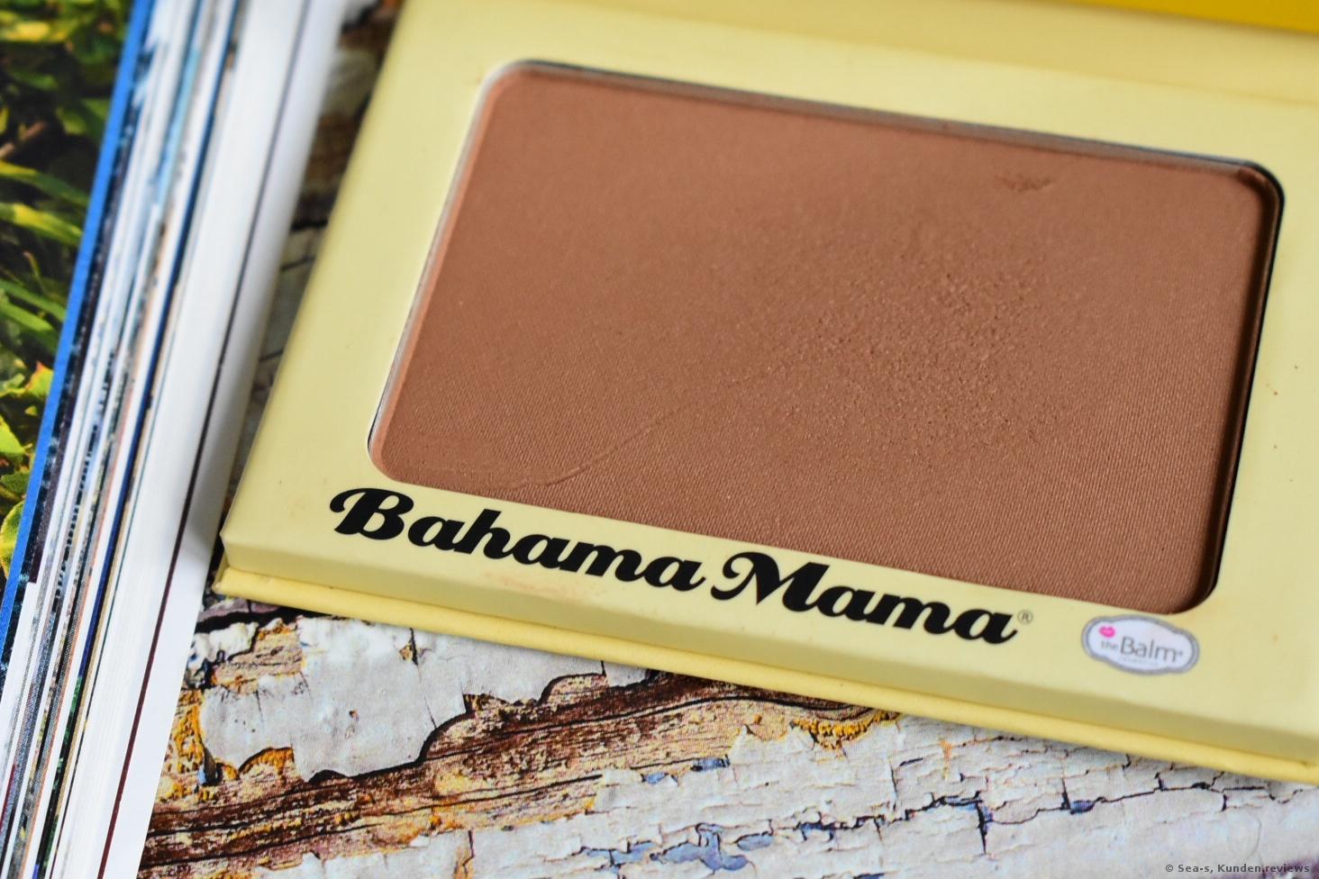 Bahama Mama Bronzer von the Balm