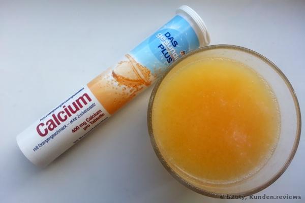 DAS gesunde PLUS Calcium Brausetabletten