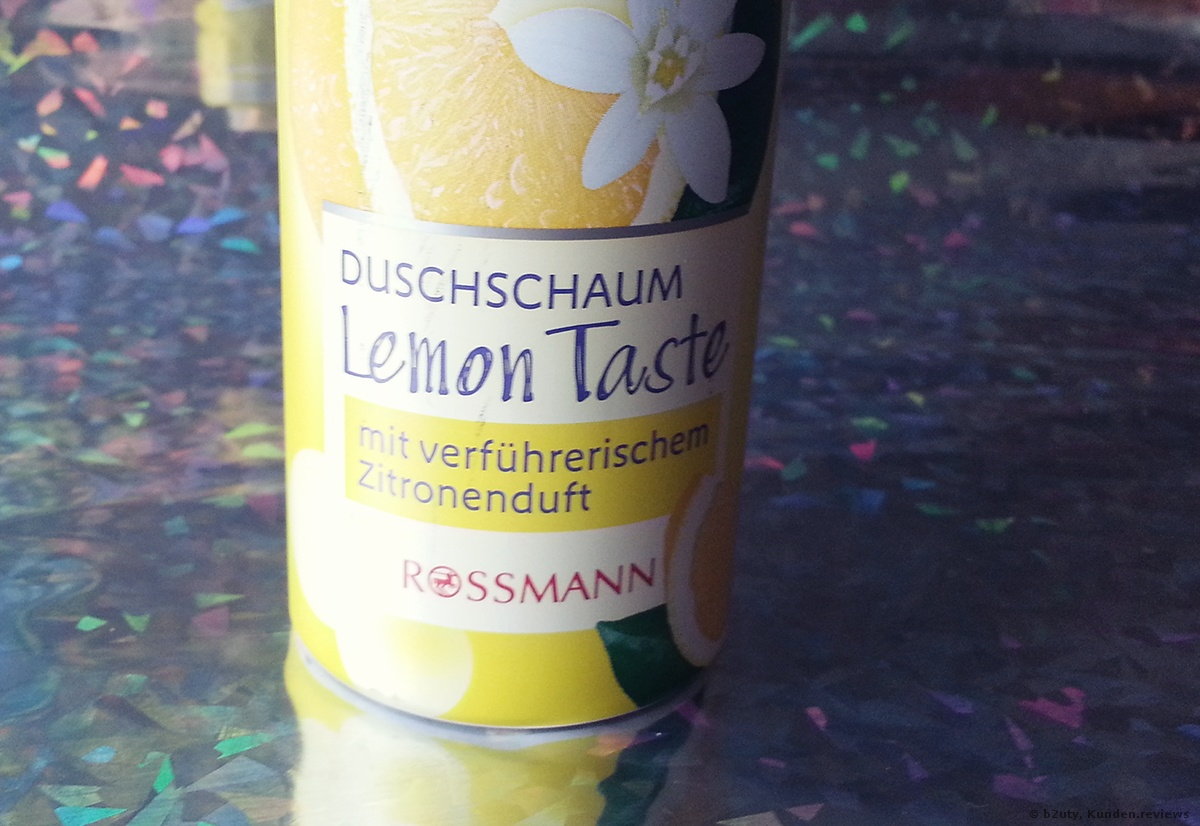ISANA Duschschaum Lemon Taste