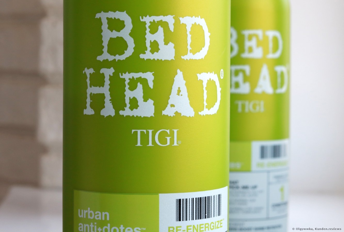 TIGI Bed Head Urban Antidotes Re-Energize Shampoo Review