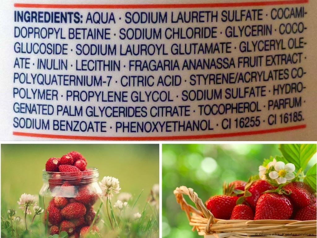 Balea  Dusche&Creme mit Erdbeerduft Duschgel Foto