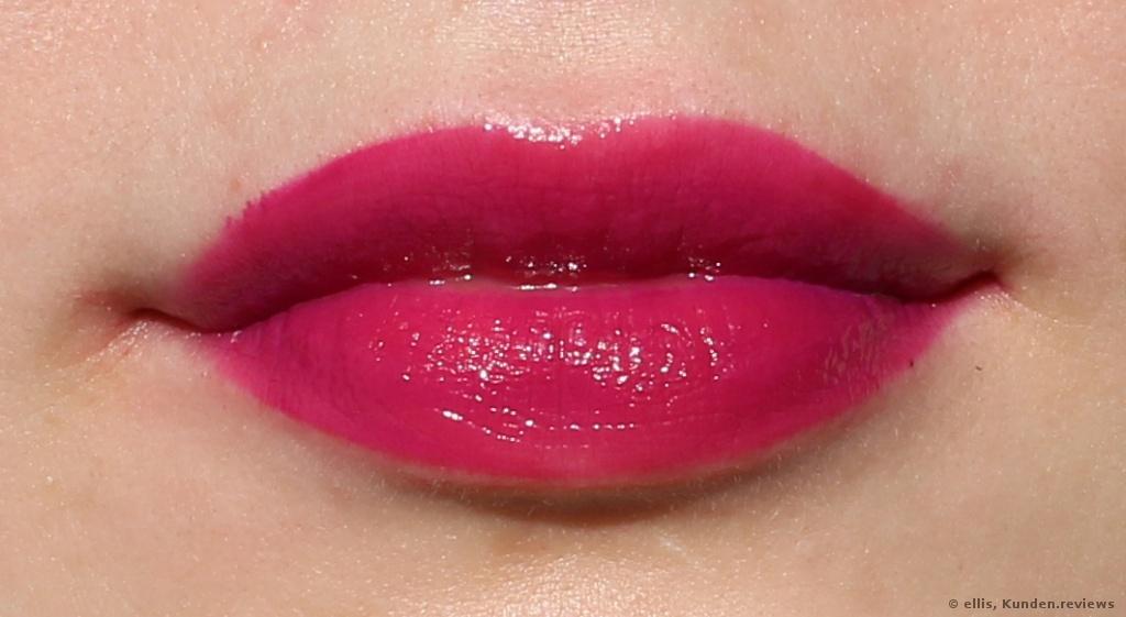 LA GIRL Glazed Lip Paint 794 Seduce. Sehr dünne Schicht
