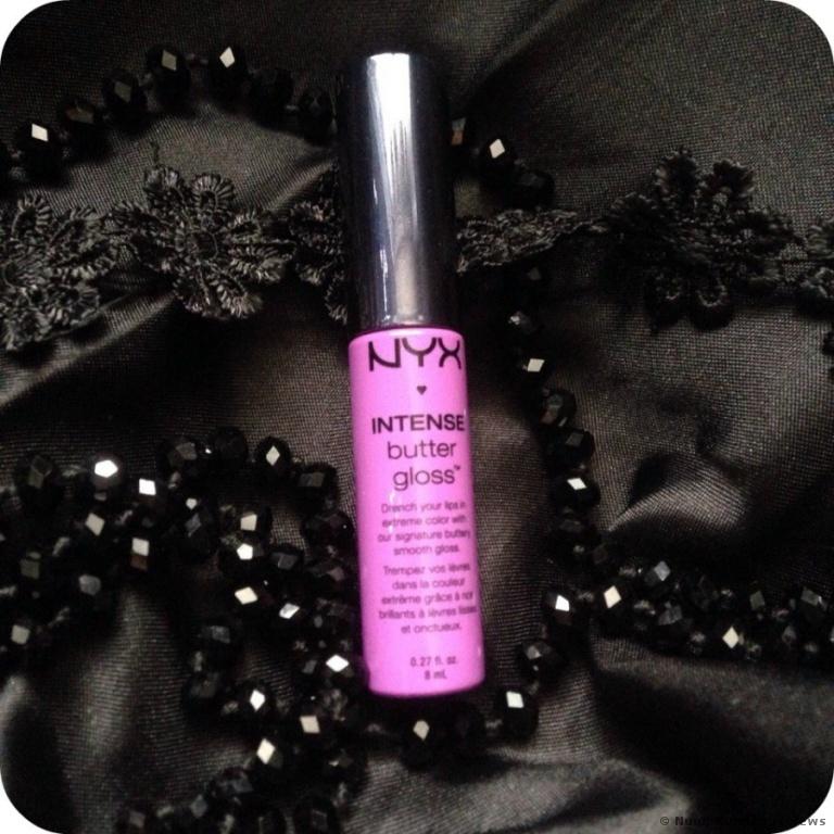 NYX Intense Butter Lipgloss Berry Strudel