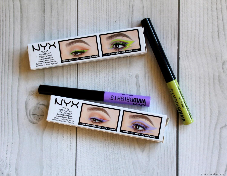 NYX Professional Makeup Eyeliner Vivid Brights Eyeliner