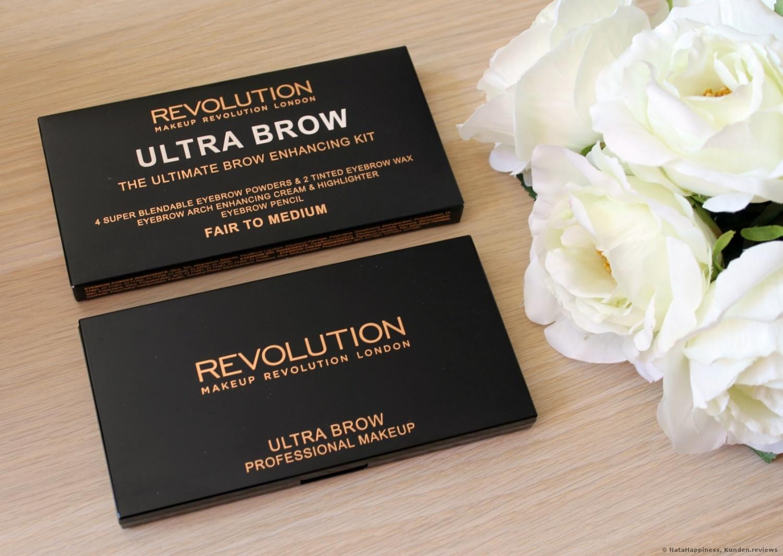 Makeup Revolution Ultra Brow Palette Augenbrauenpuder Foto