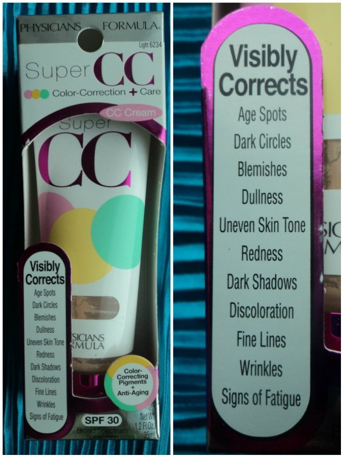 Physicians Formula Feuchtigkeitspflege Super CC Color-Correction + Care CC Cream