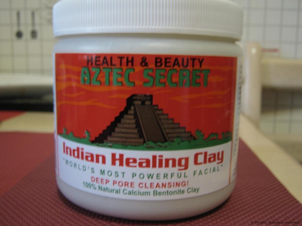 Aztec Secret  Indian Healing Clay Indianische Heilungs-Tonerde für das Gesicht  Gesichtsmaske Foto