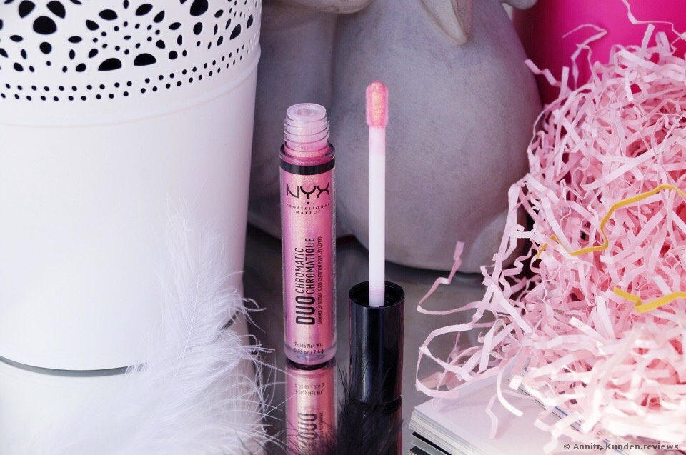 NYX Duo Chromatic Shimmer Lip Gloss Lipgloss