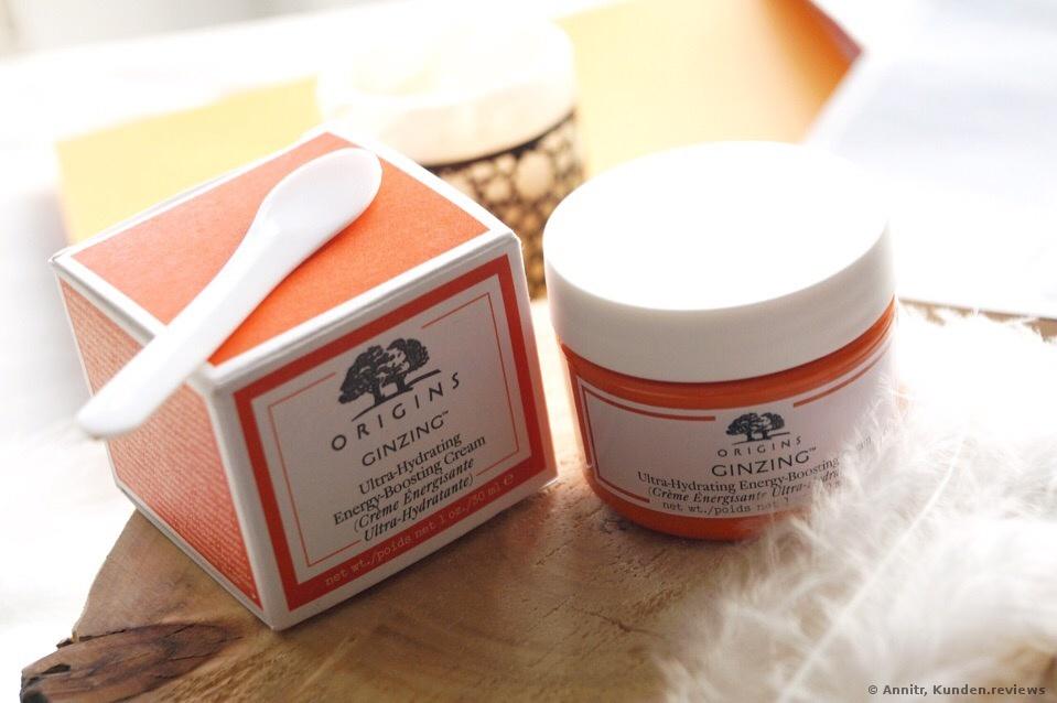 Origins GinZing Ultra-Hydrating Energy-Boosting Cream Gesichtscreme Foto