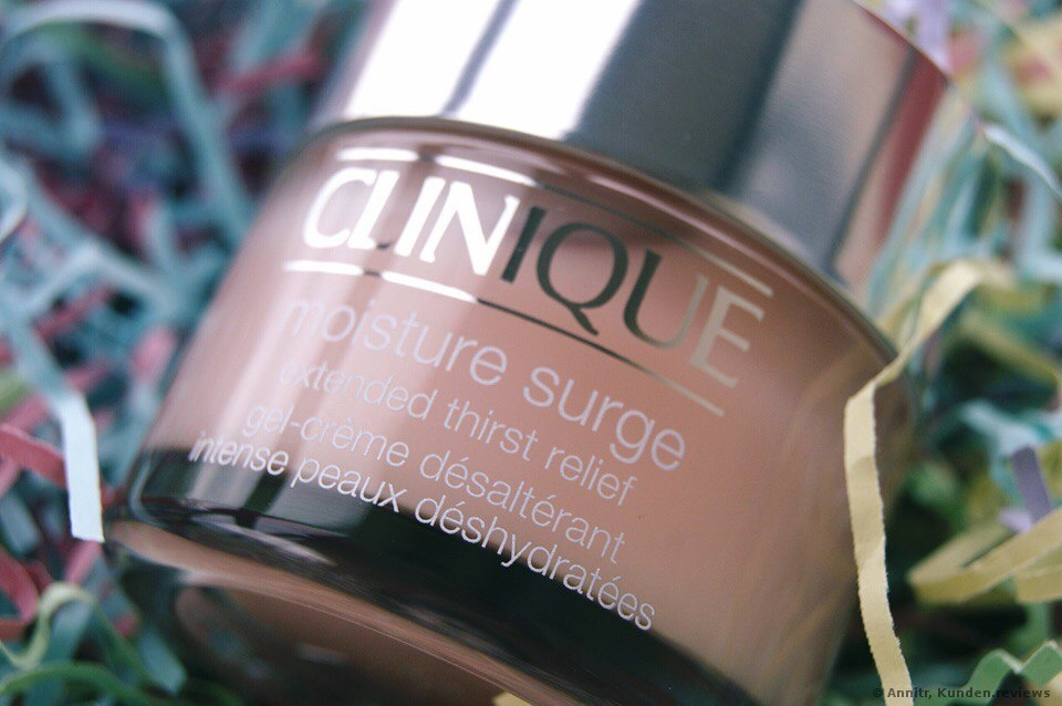CLINIQUE Moisture Surge Extended Thirst Relief Gesichtscreme Foto