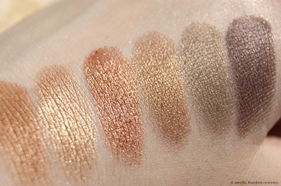 I Heart Makeup Golden Bar  Lidschatten Foto